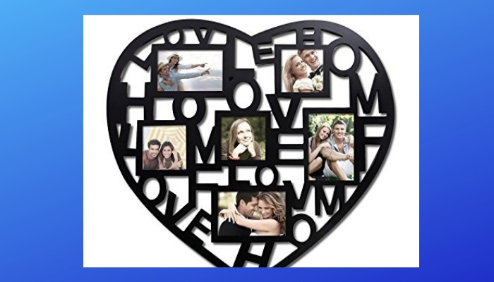Heart Shape Collage Frame