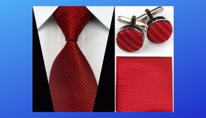 Tie Cuff Links