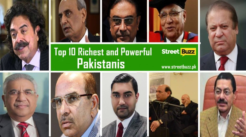 Top 10 Richest and Powerful Pakistanis